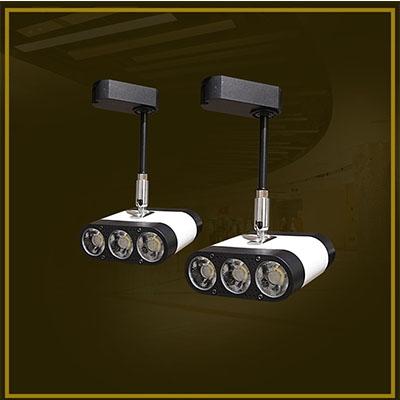 在商场中提供LED日光灯有阻塞和无阻塞两种优势