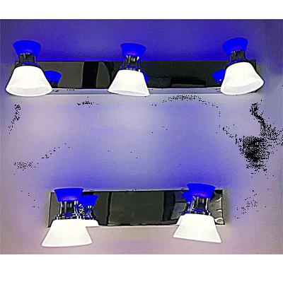 专业定制LED日光灯的带灯罩的双灯管支架灯
