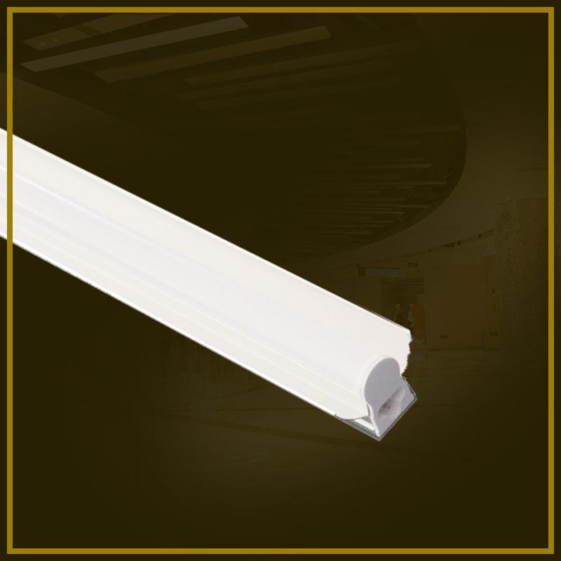 LED T5带罩一体化支架-1
