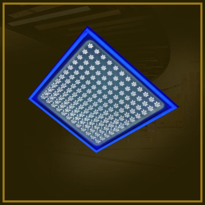 梅花灯盘 双色 LED分段变光灯盘